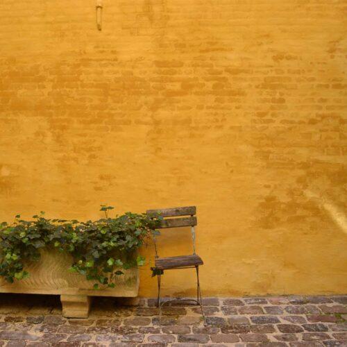 gul væg